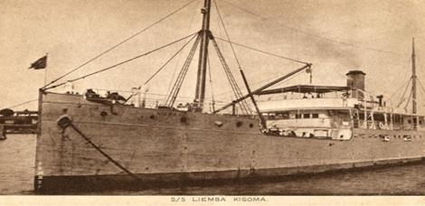 1950's Postcard of the Liemba