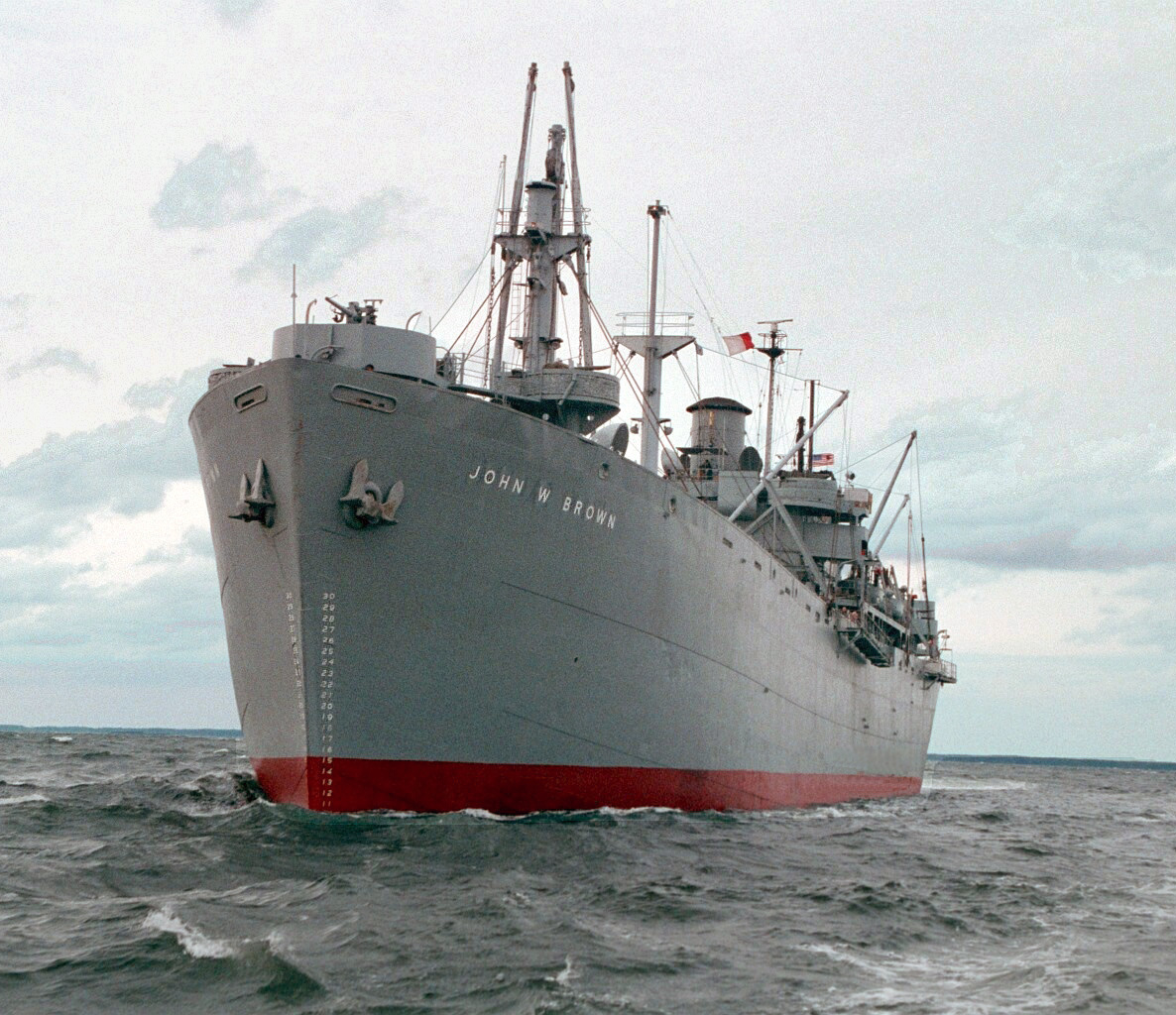 History Cruise Aboard SS John W Brown  Sea History