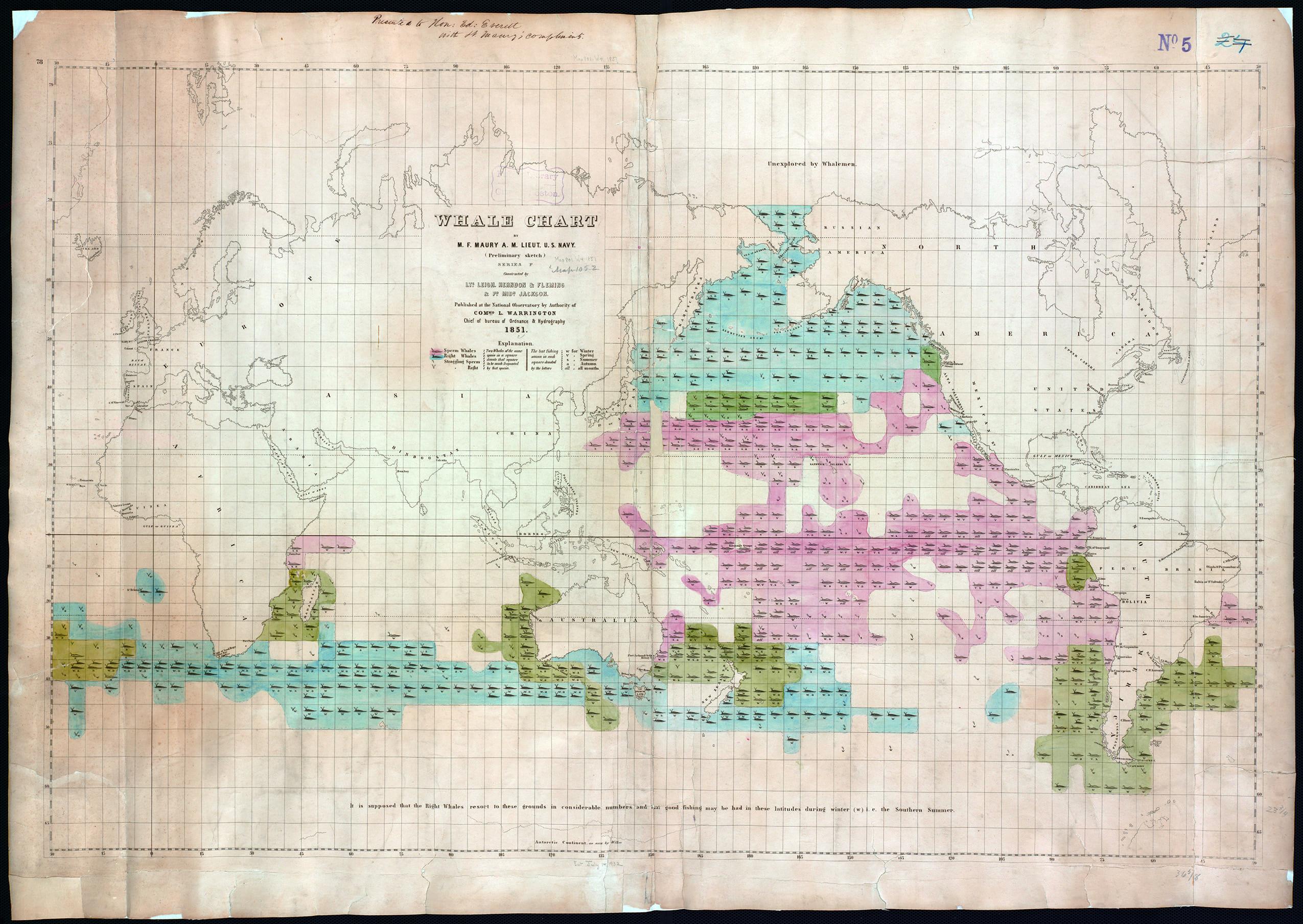 September 2017 sea history maury whale chart 8 25 nvjuhfo Choice Image