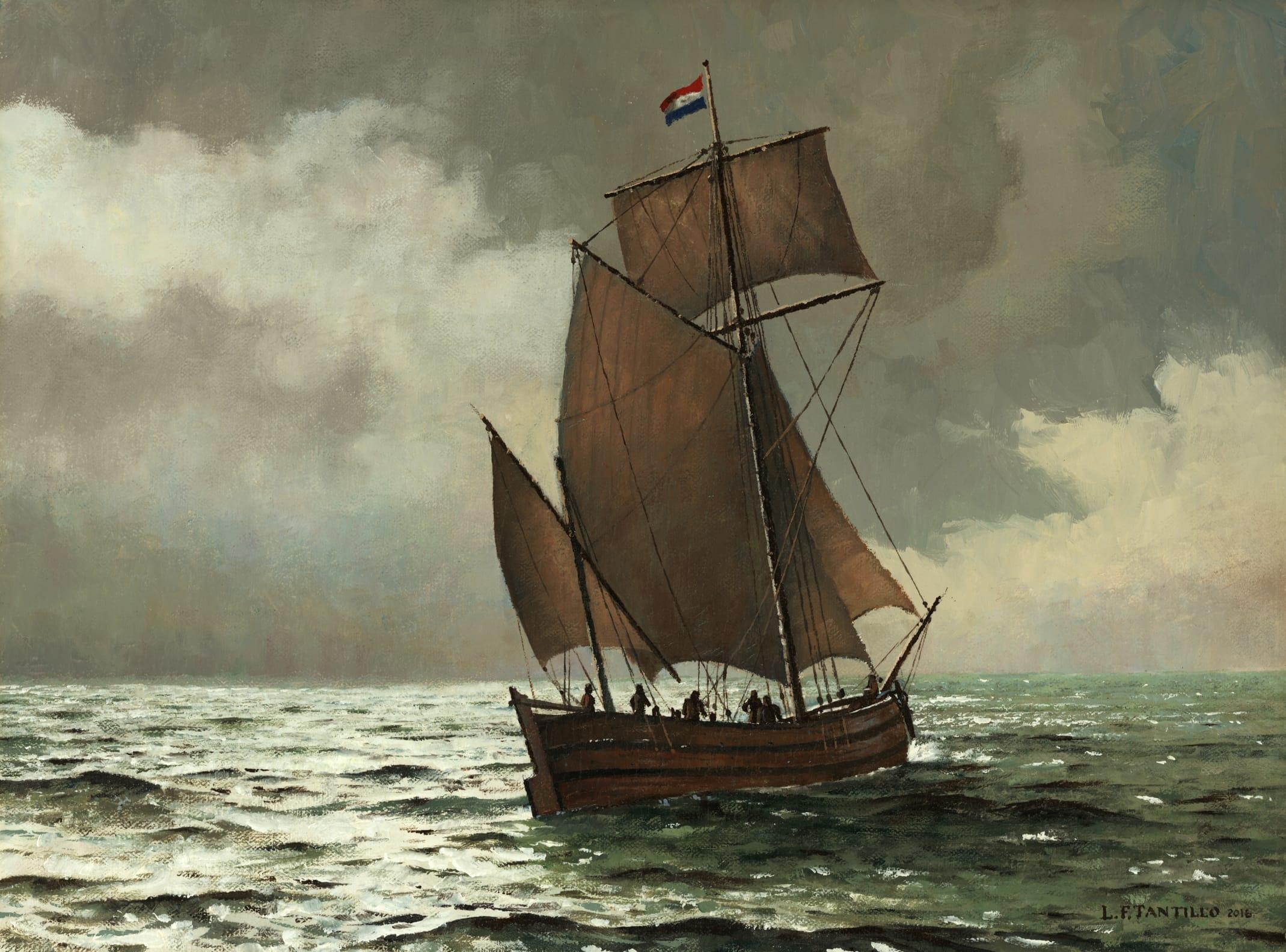 Maritime Len early york with marine artist len tantillo sea history