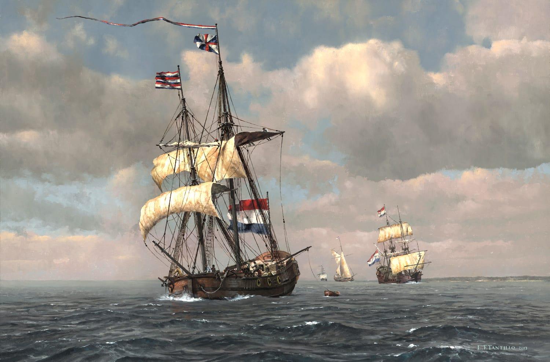 early york with marine artist len tantillo sea history