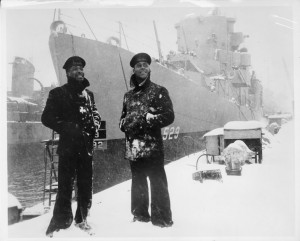 Sailors from USS Mason (photo: National Archives)
