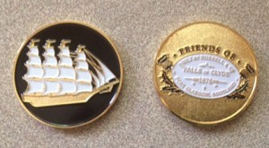 Commemorative coin offered to donors of $100 or more to the fundraising campaign