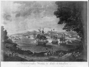 MacDonough's Victory on Lake Champlain