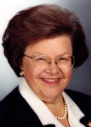 Senator Barbara Ann Mikulski