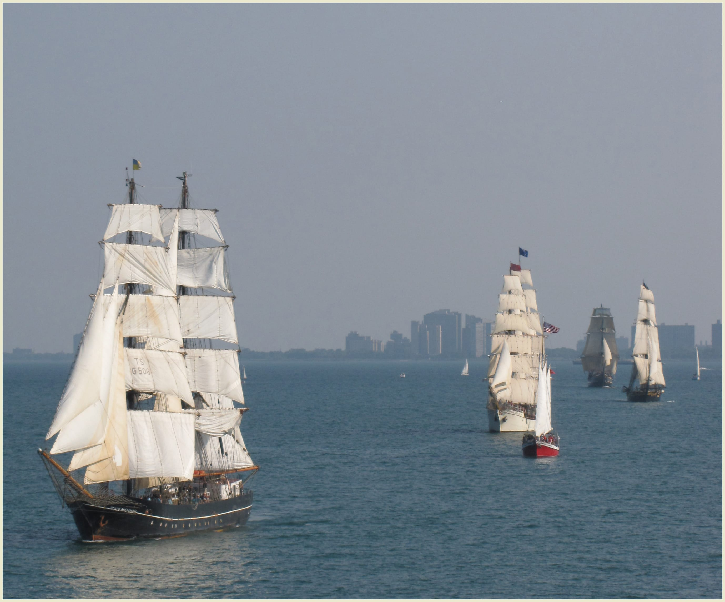 tall ships challenge great lakes 2016 sea history