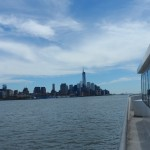 View from NY Waterway Ferryboat