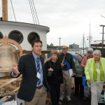 South Street Seaport Waterfront Commissioner, Jonathan Boulware and NMHS members