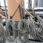 Rigging aboard Peking