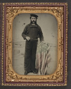 Union sailor (photo: Library of Congress)