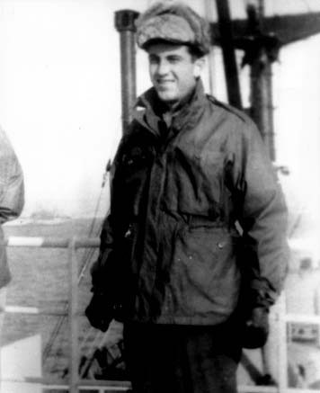 Staff Officer Robert Lunney (photo courtesy RADM Lunney)