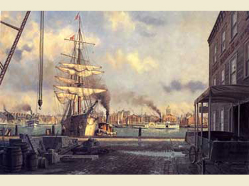 Morning Arrival at Baltimore by John Barber