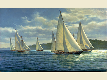 Summer Cruise by Don Demers