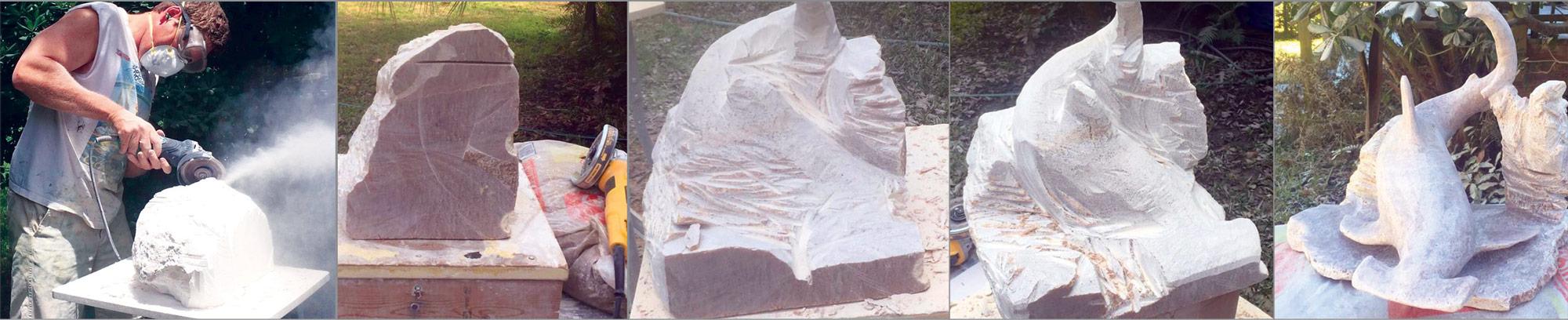 Alabaster Sculpture Series
