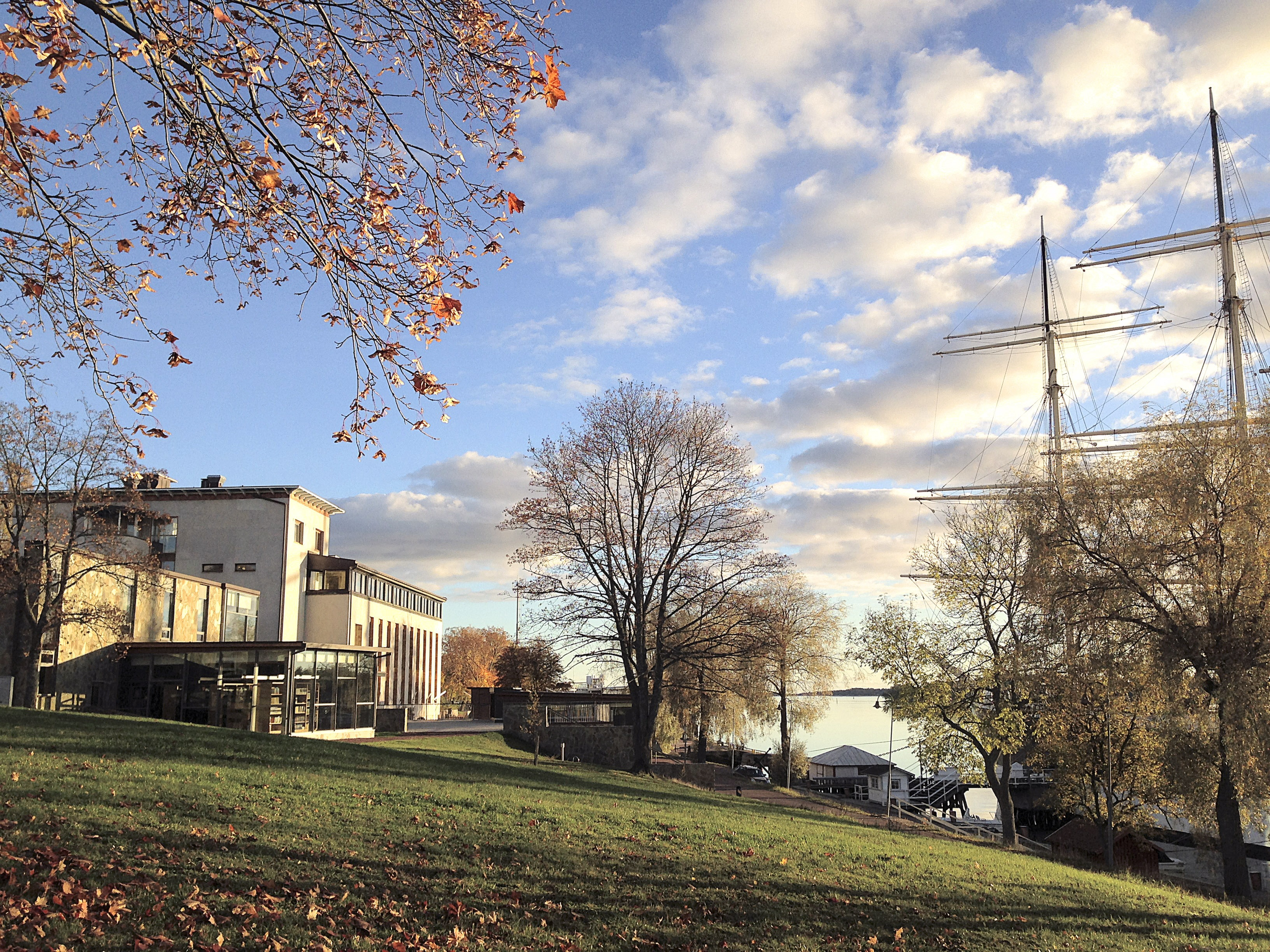 Ålands sjöfartsmuseum.Åland Maritime Museum.