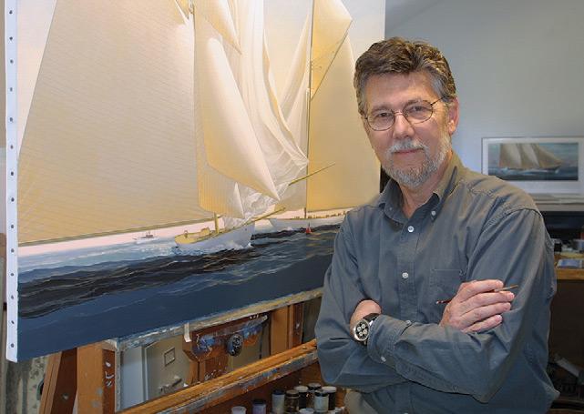 Artist John Mecray