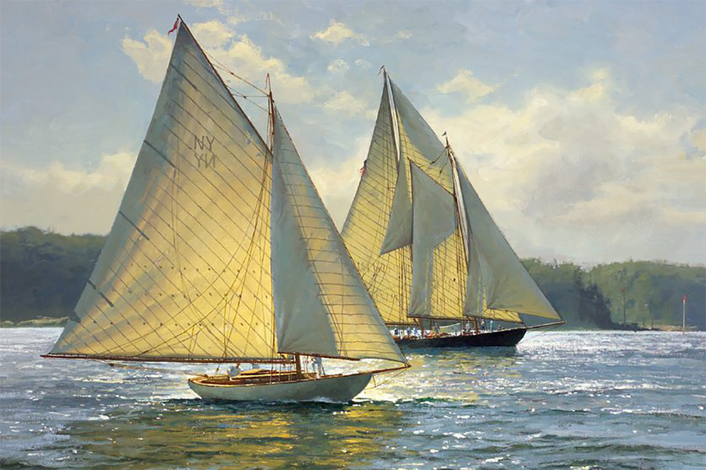 Bay Light Demers Marine Art