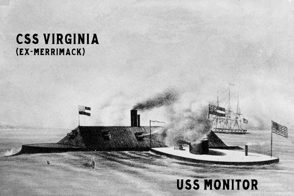 CSS Virigina USS Monitor