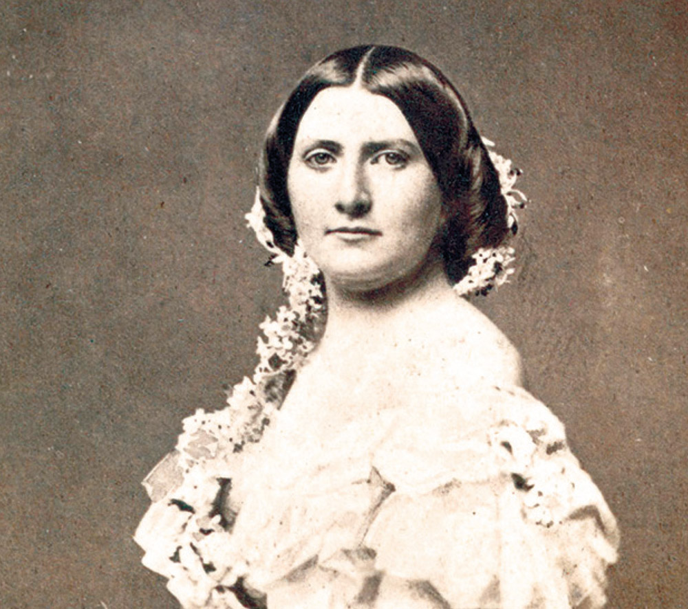 First Lady Harriet Rebecca Lane P D Image, Courtesy Of Wikipedia