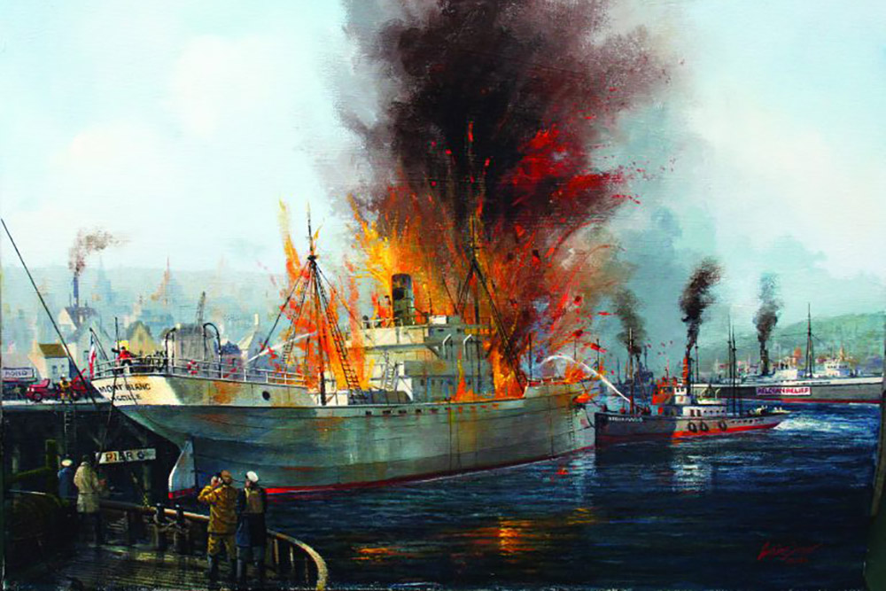 HALIFAX DISASTER By Austin Dwyer 6in 768x569