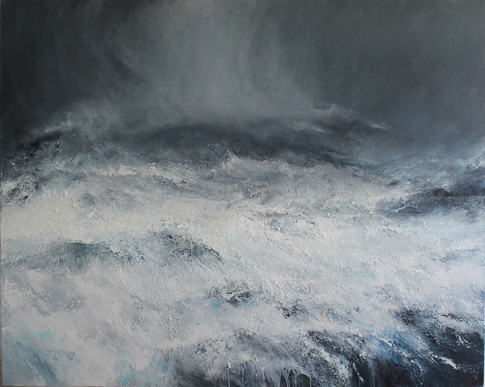 Janette Kerr, Out On Rooi Ness, Voe Of Dale, 2018, Oil On Canvas, 63in X 78.7in (160cm X 200cm) © The Artist, Courtesy Of Cadogan Contemporary