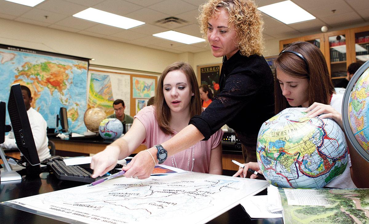 Jenny Teaching Students