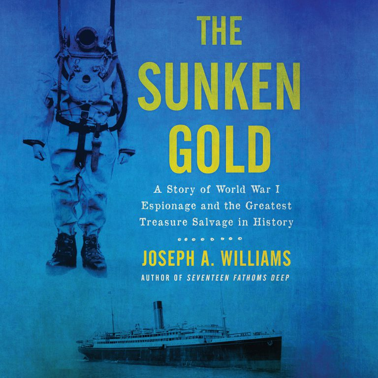 Joseph Williams Sunken Gold Cover