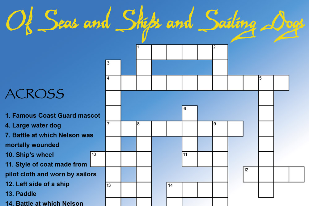 Of Seas And Ships And Sailing Dogs Feature