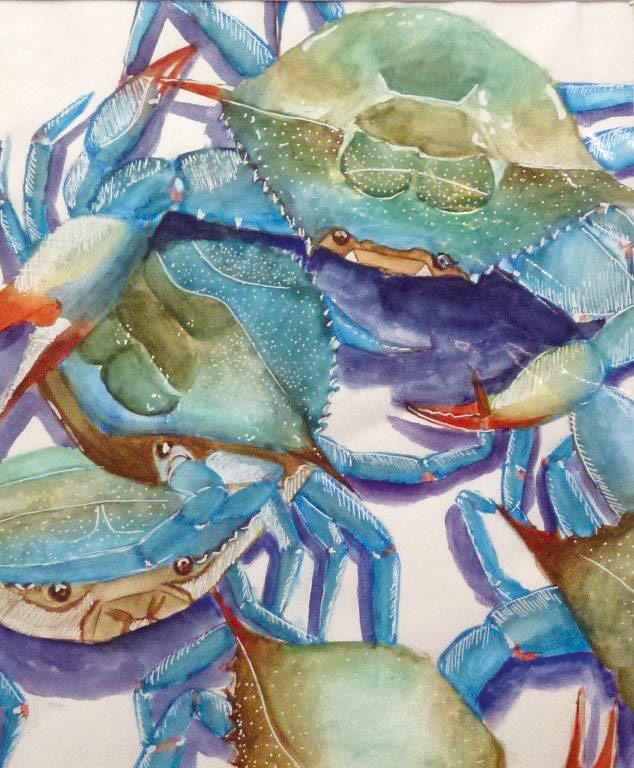 Kim H Mart Crabs