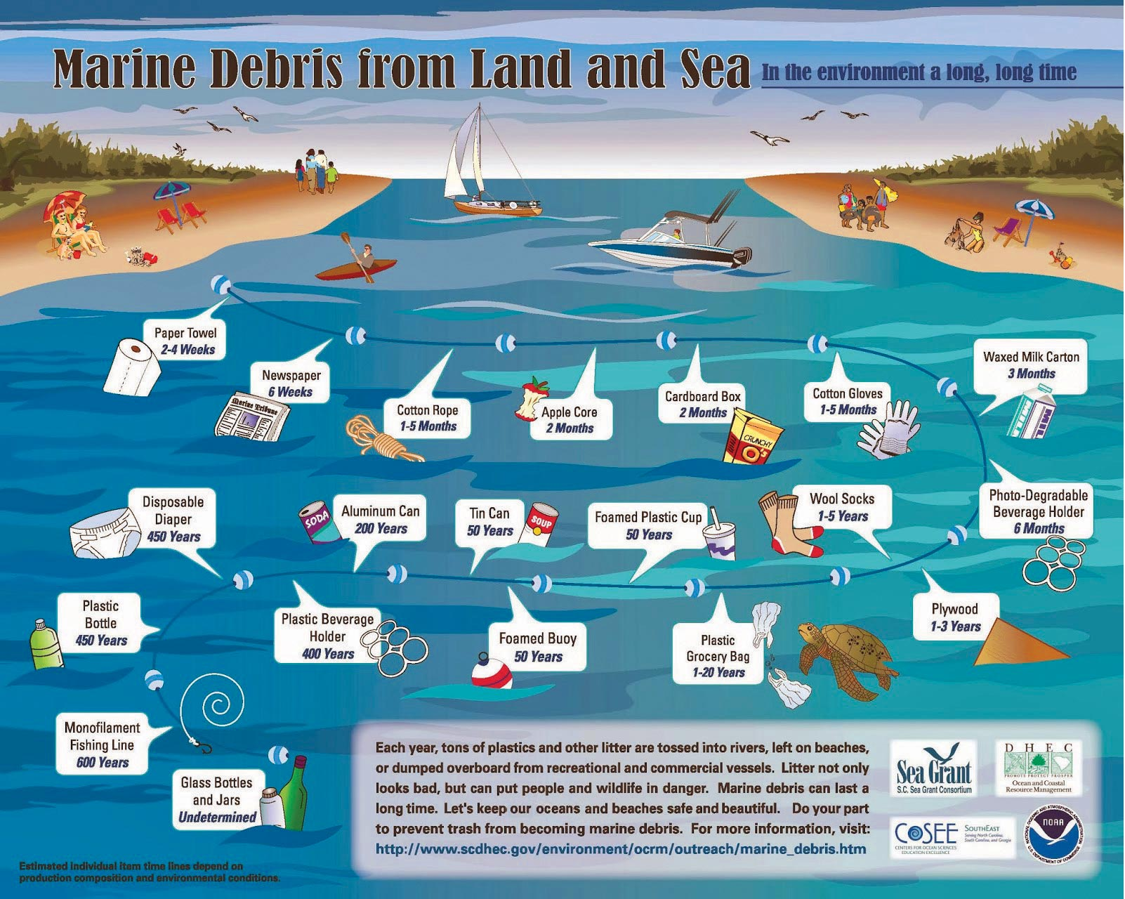 Marine Debris Graphic