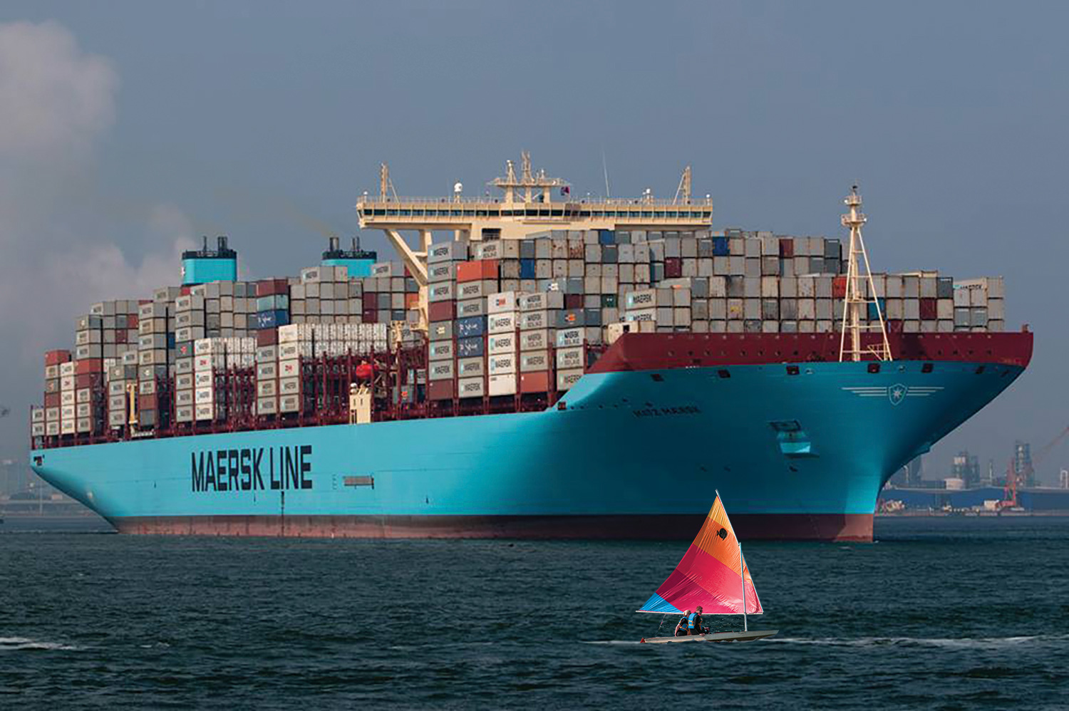 Matz Maersk FB Photo By Dave Van Spronsen