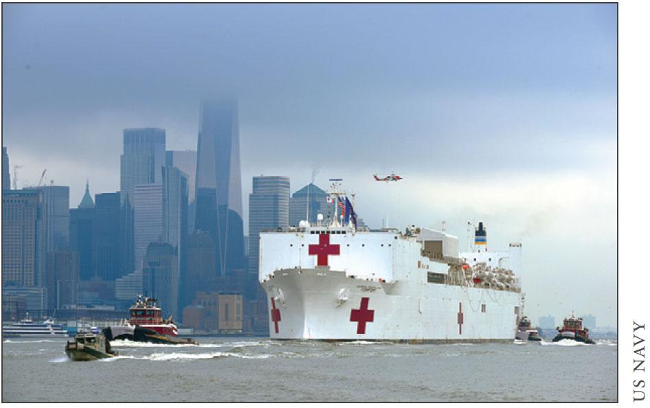 US hospital ship Mercy