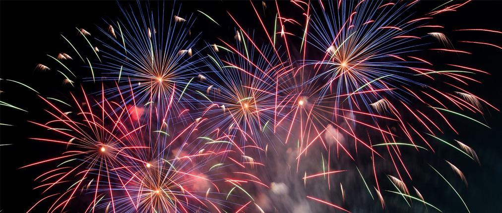 NYE 2018 Fireworks