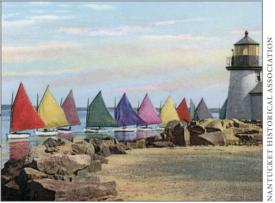 Painting of the Nantucket Yacht Club