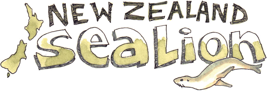 New Zealand SeaLion Words