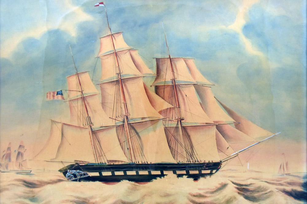 CBMM Katherine Jackson Under Sail