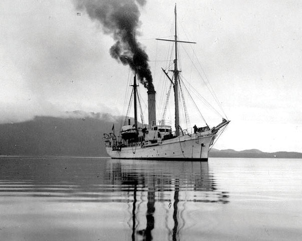 Power Schooner ALBATROSS In Alaskan Waters