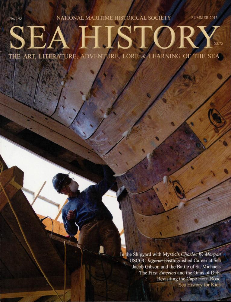 Sea History 143 cover