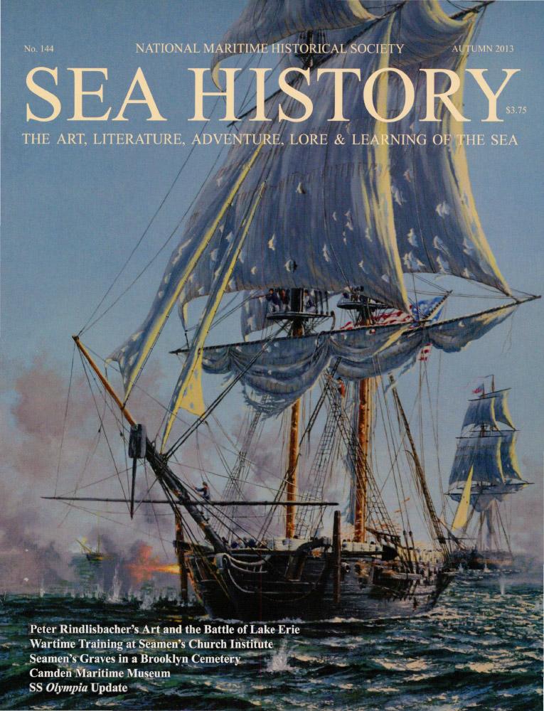 Sea History 144 cover