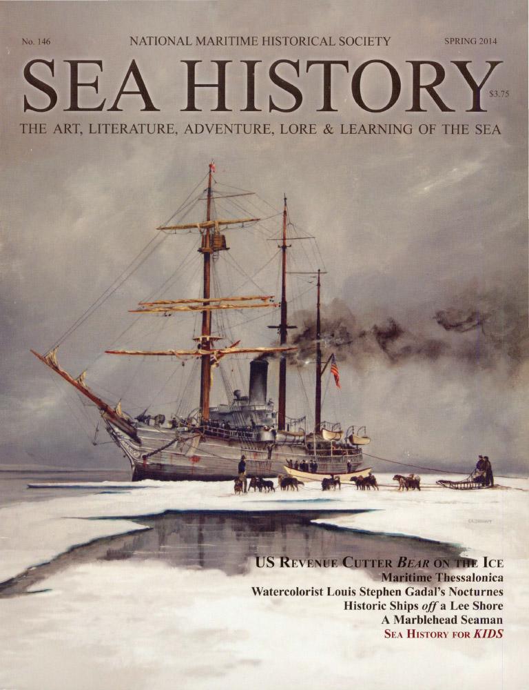 Sea History 146 cover
