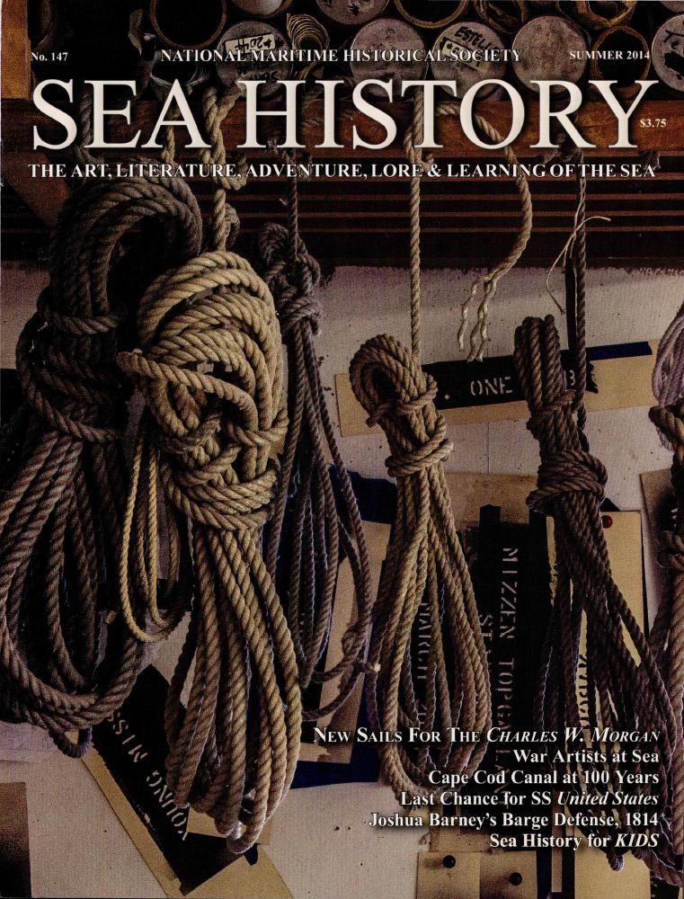 Sea History 147 cover