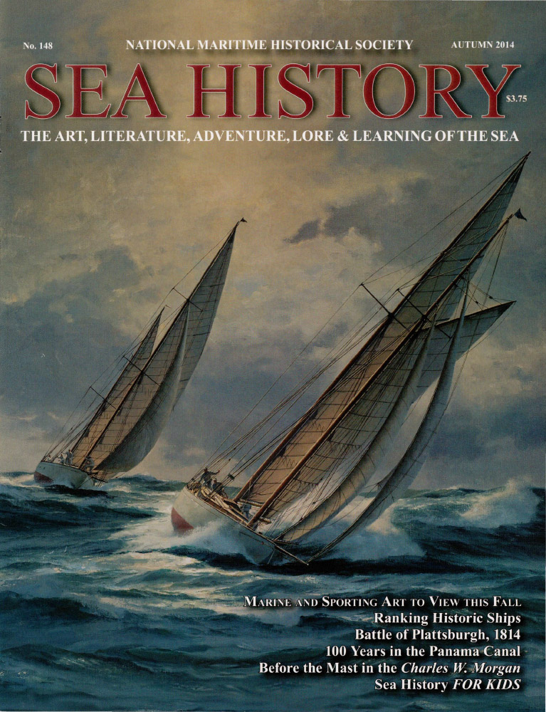 Sea History 148 cover