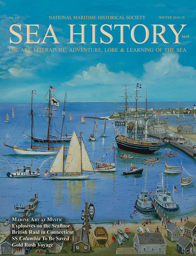 Sea History 149 cover