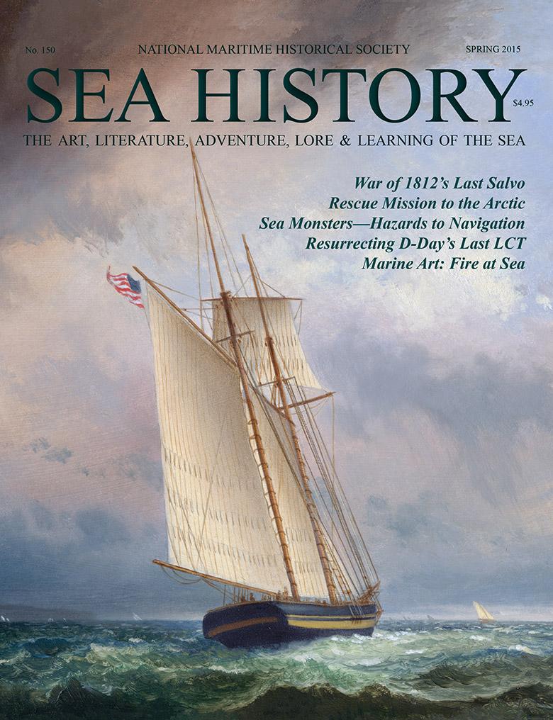 Sea History 150 cover