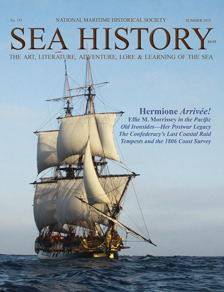 Sea History 151 cover