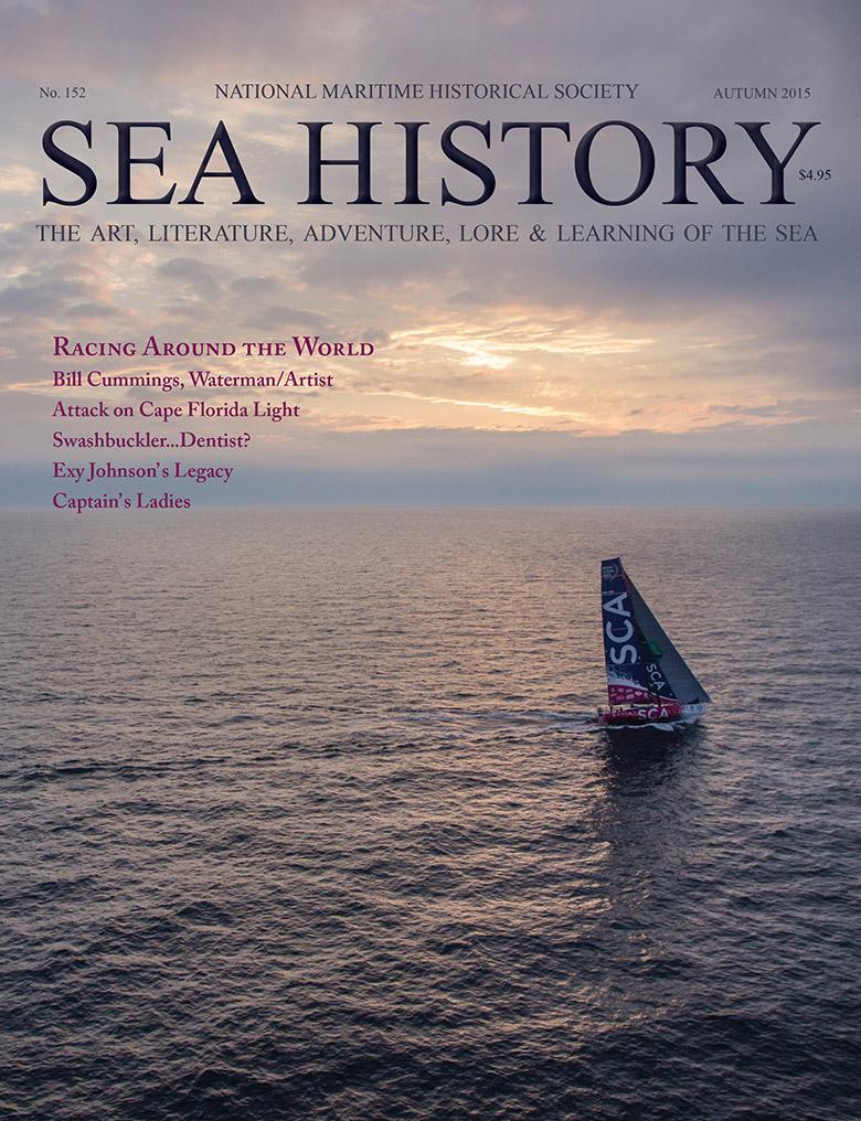 Sea History 152 cover