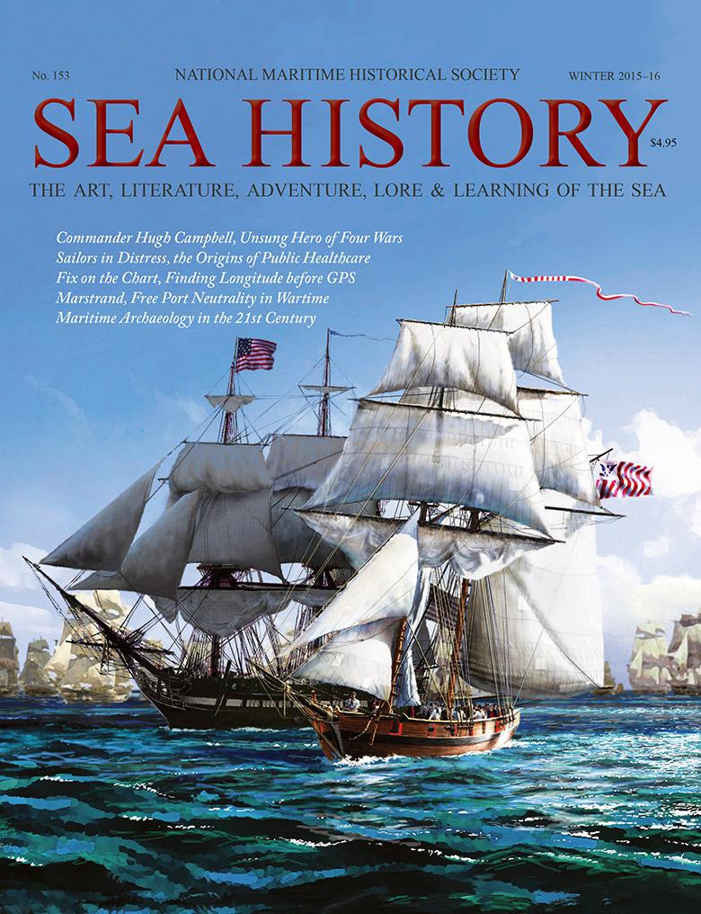 Sea History 153 cover