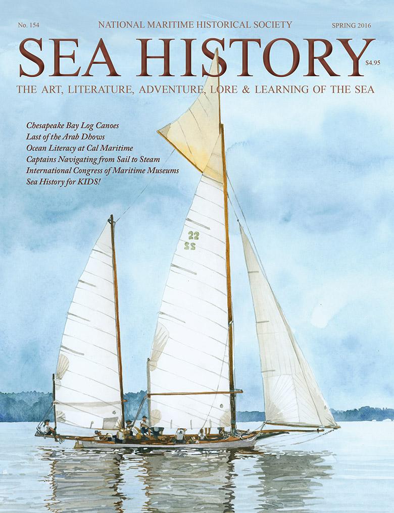 Sea History 154 cover