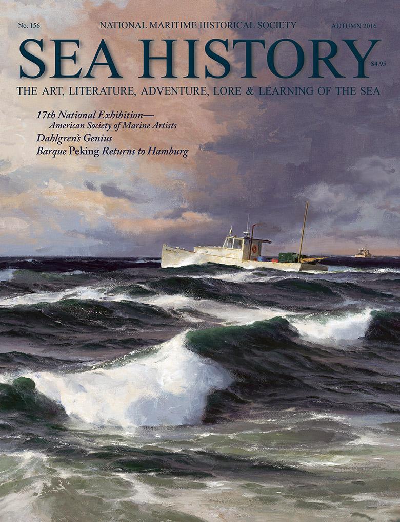Sea History 156 cover