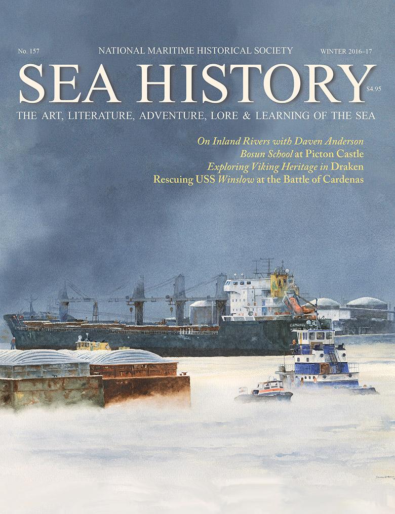 Sea History 157 cover